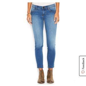 Free People   Roller Crop Skinny Jeans